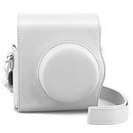 dengpin® pu câmera capa de couro saco caso para Mini8 Fujifilm (cores sortidas)