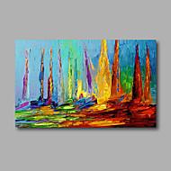 Håndmalte Abstrakt Landskap olje malerier,Moderne Et Panel Lerret Hang malte oljemaleri For Hjem Dekor