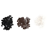 Neitsi 100pcs High Quality  Italian Flat Tips  Keratin Fusion  Rebonds for Hair Extension DIY&Repair