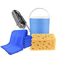 automatiske bilvask forsyninger rengjøringsbørste hjem bærbar bilvask pensel (tilfeldig farge)
