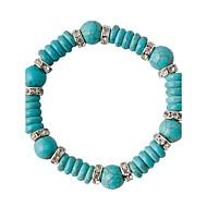 Bracelet Bracelets de rive Alliage Forme de Cercle Mode Mariage Bijoux Cadeau Vert,1pc