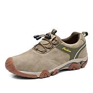 Herren-Sneaker-Lässig-PU-Flacher Absatz-Komfort-Schwarz / Blau / Braun / Khaki