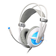 Somic G938 Cascos(cinta)ForComputadorWithCon Micrófono / DJ / Control de volumen / De Videojuegos / Aislamiento de Ruido / Hi-Fi