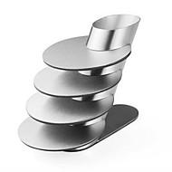 Rond Carré Couleur Pleine Sets de table Dessous-de-verres , Inox Matériel
