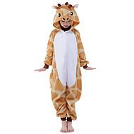 Kigurumi Pijamale noul Cosplay® Girafă Leotard/Onesie Festival/Sărbătoare Sleepwear Pentru Animale Halloween Portocaliu Peteci Kigurumi