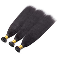 3 Pieces Straight Human Hair Weaves Burmese Texture 100grams 8inch to 30inch Human Hair Extensions