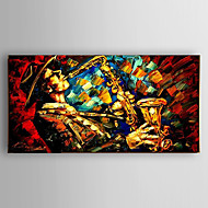 Oil Painting People by Knife Hand Painted Canvas with Stretched Framed Ready to Hang