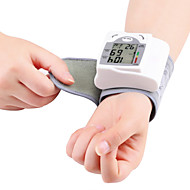 Health Care Automatic Digital Wrist Blood Pressure Monitor Meter Cuff Blood Pressure Measurement Health Monitor