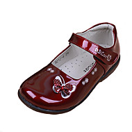 Girls Comfort Pointed Toe Flat Patent Leather Loafers Shoes Dress shoes Students-shoes school shoes Performance shoes