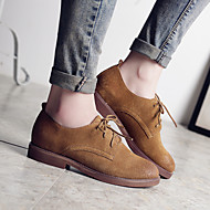 Women's Oxfords Spring / Summer / Fall / Winter Mary Jane Leather Casual Low Heel Others Brown / Almond Others
