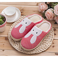 Fall / Winter Comfort Customized Materials Casual Flat Heel Animal Print Blue / Pink Others