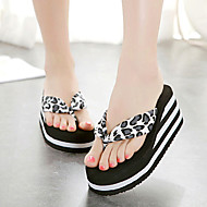 Women's Slippers & Flip-Flops Summer Slingback Velvet Casual Wedge Heel Others Black Brown Others