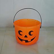 3ks Halloween Dýně barelů cukroví koše