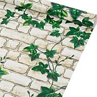 벽돌 홈 벽지 국가 벽 취재 , 엮어지지 않은 섬유 자료 접착성이 있는 벽지 , 룸 Wallcovering 협력