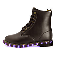 Unisex LED Shoes / Combat Boots  Damping / Wearproof / Breathable / Lighted / Coconut Shoes