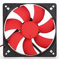 casefans 12 cm12025 12 v ultra-stille ventilator een ventilator lucht volume