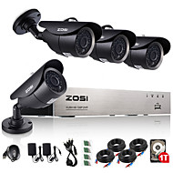 zosi®720p AHD 8CH CCTV înregistrare dvr sistem de securitate de supraveghere de origine 1TB hdd