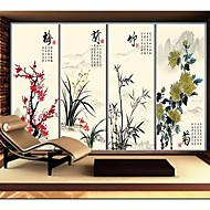 Custom Size Window Style Art Translucent Decorative Tinted Plastic Film Glass