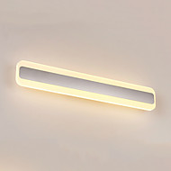 AC 100-240 24W Led Integrado Moderno/Contemporâneo Prateado Característica for LED / Estilo Mini / Lâmpada Incluída,Luz Ambiente
