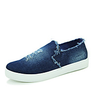 Unisex Loafers & Slip-Ons Fall Comfort Canvas Casual Flat Heel Others Black / Blue Others