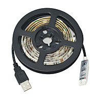 jiawenのUSB 30-SMD5050 RGBを1mの防水ストリップライトを導きました