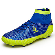 Men's Athletic Shoes Fashion Boots / Comfort Synthetic Outdoor / Athletic Flat Heel Lace-upBlue / Green /