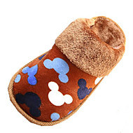 Unisex Slippers & Flip-Flops Winter Comfort / Slippers /  Flats Velvet Outdoor / Casual Flat Heel OthersBlue /
