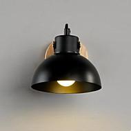moderne allée lampe de mur lampe de chevet créative chambre de lampe d'escalier en bois minimaliste conduit