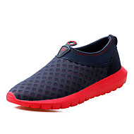 Men's Sneakers Summer Fall Comfort Tulle Athletic Flat Heel Others Blue Green Water Shoes Walking