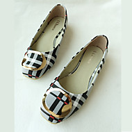 Women's Flats Shoes Fashion Leathers Bowknot Shoes