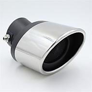 bil avgasröret svans halsen modifierad rostfri ljuddämpare stål speciell aktern rör