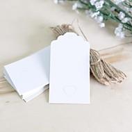 rustieke Theme-Labels / Tags(Wit / Roze / Bruin,HardKaart Paper