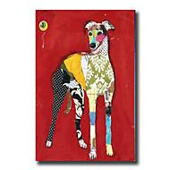 Ręcznie malowane Streszczenie / Zwierzę / Kaprys Obrazy olejne,Nowoczesny / Fason europejski Jeden panel Płótno Hang-Malowane obraz olejny