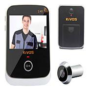 kivos kdb307 famiglia visivo intelligente anti-furto di monitoraggio elettronico della fotocamera occhio porta