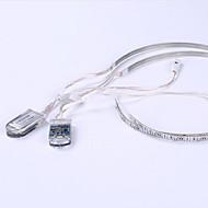0.5M Battery Charging Led String Lights 24Led Christmas Outdoor Lighting Shoe Flexible Car LED Light Strips