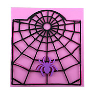 Halloween Webs Baking Mold Cake Mold 3D Silicone Mould Cake Decorating Baking Tool  Random Color
