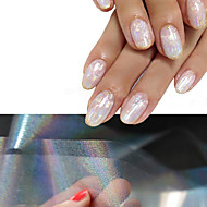 4 Nail Art naljepnica 3D Nail Naljepnice šminka Kozmetički Nail art dizajn