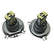 2pcs 40w Elantra водить фары фары h4 авто h4 светодиодные фары ближнего света h4 Комплект светодиодных фар