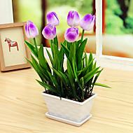 Set of 1 PCS 1 Větev PU Tupilán Květina na stůl Umělé květiny 13.3