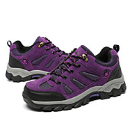 Women's Sneakers Spring / Fall Comfort  Outdoor / Athletic Flat Heel Lace-up Purple / Red Hiking