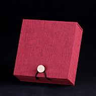 Ékszerdobozok Papír Piros Barna