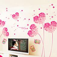 Botanikus / Romantika / Csendélet Falimatrica Repülőgép matricák / 3D-s falmatricák Dekoratív falmatricák,PVC AnyagEltávolítható /