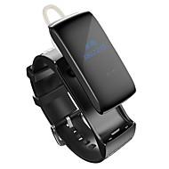 Smart band talkband bluetooth ur armbånd lyd headset digitale håndled kalorier skridttæller track fitness søvn skærm