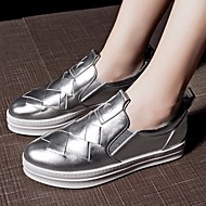 Women's Loafers & Slip-Ons Spring Fall Comfort Suede Casual Flat Heel Others Silver Walking
