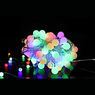 40 geleide 5m waterdichte plug outdoor decoratie licht kerst vakantie geleid snaar licht (220v)