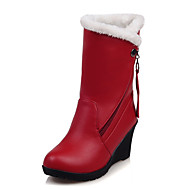 Women's Boots Fall / Winter Snow Boots / Fashion Boots / Round Toe Office & Career / Dress / Casual Platform Fur