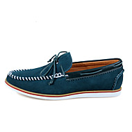 Men's Flats Spring / Summer / Fall / Winter Round Toe / Flats Leather Outdoor / Office & Caree