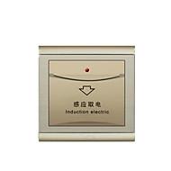 interruptor de parede de ouro