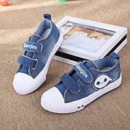 Boy's Flats Spring / Fall Slide Canvas Athletic Flat Heel Others Blue Others