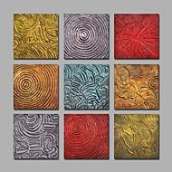 Ručně malované Abstraktní olejomalby,Moderní Více než pět panelů Plátno Hang-malované olejomalba For Home dekorace